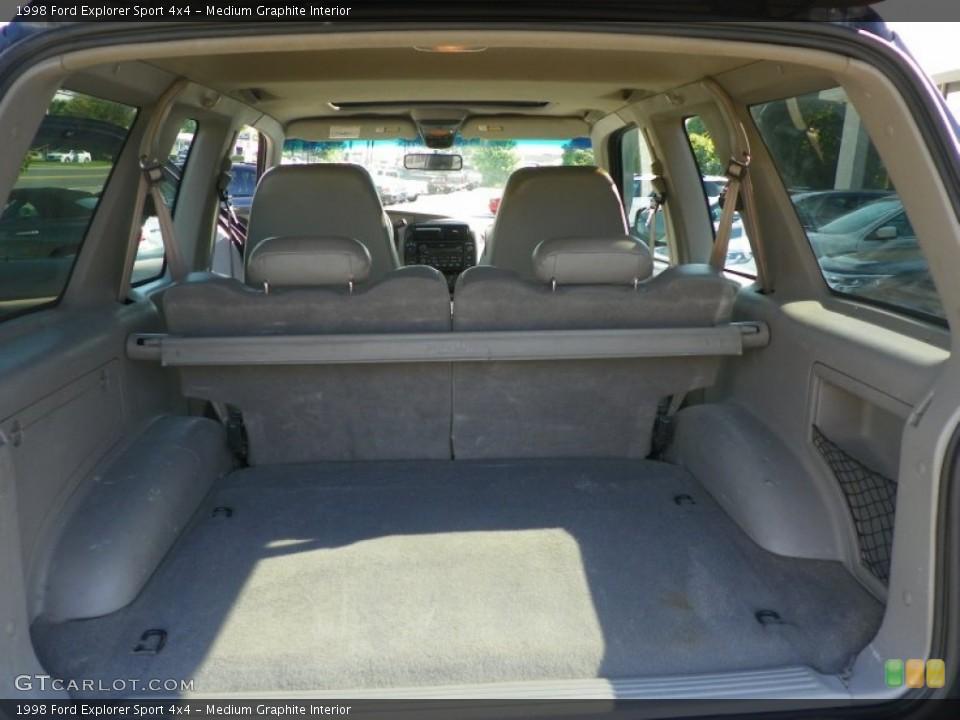Medium Graphite Interior Trunk for the 1998 Ford Explorer Sport 4x4 #50214072