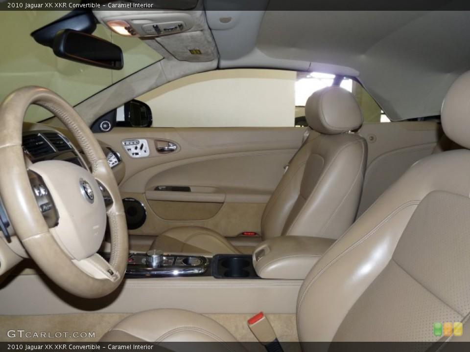 Caramel Interior Photo for the 2010 Jaguar XK XKR Convertible #50231776