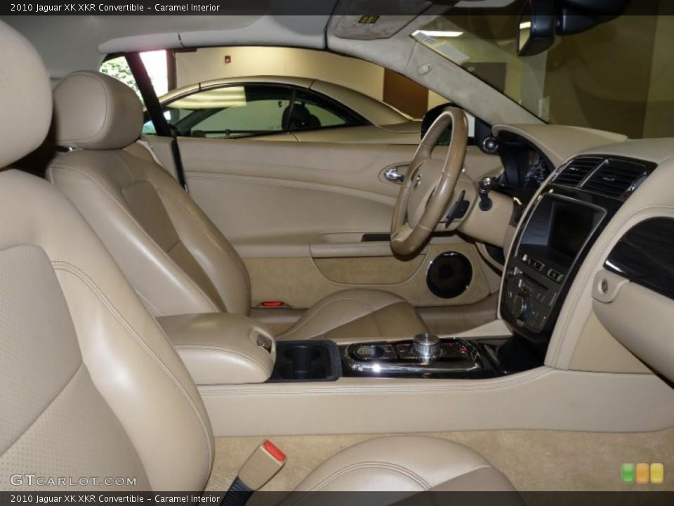 Caramel Interior Photo for the 2010 Jaguar XK XKR Convertible #50231818