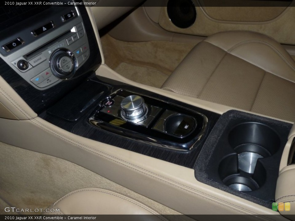 Caramel Interior Transmission for the 2010 Jaguar XK XKR Convertible #50231875