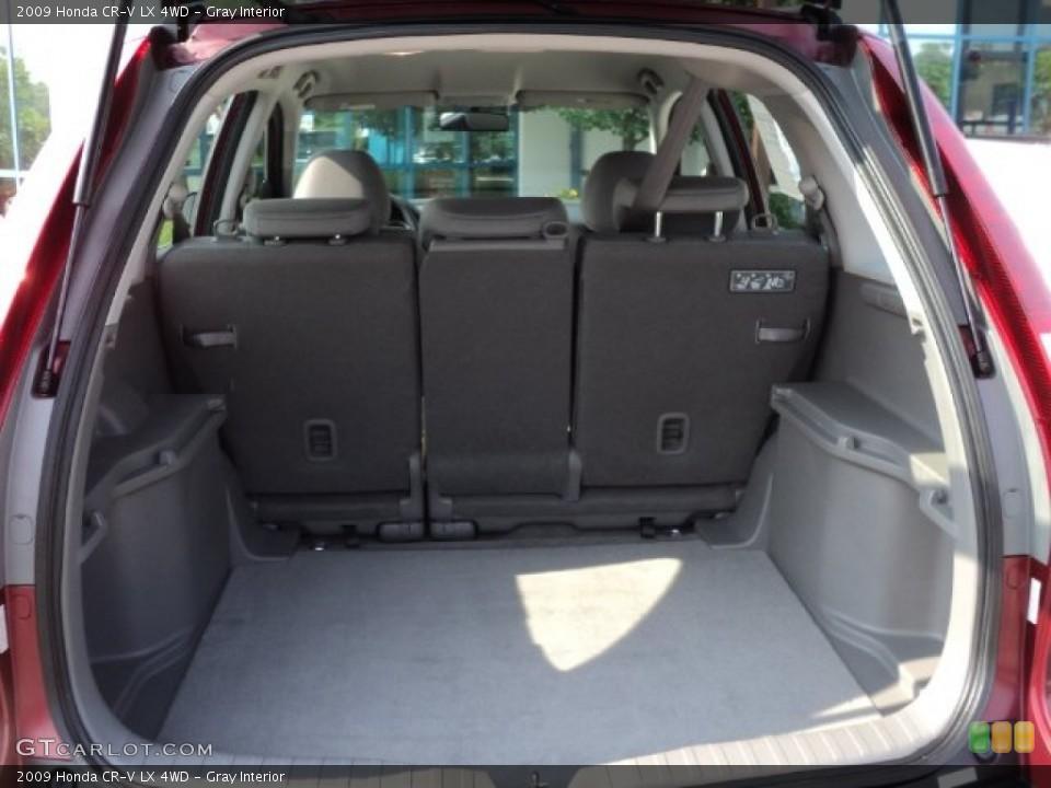 Gray Interior Trunk for the 2009 Honda CR-V LX 4WD #50281968
