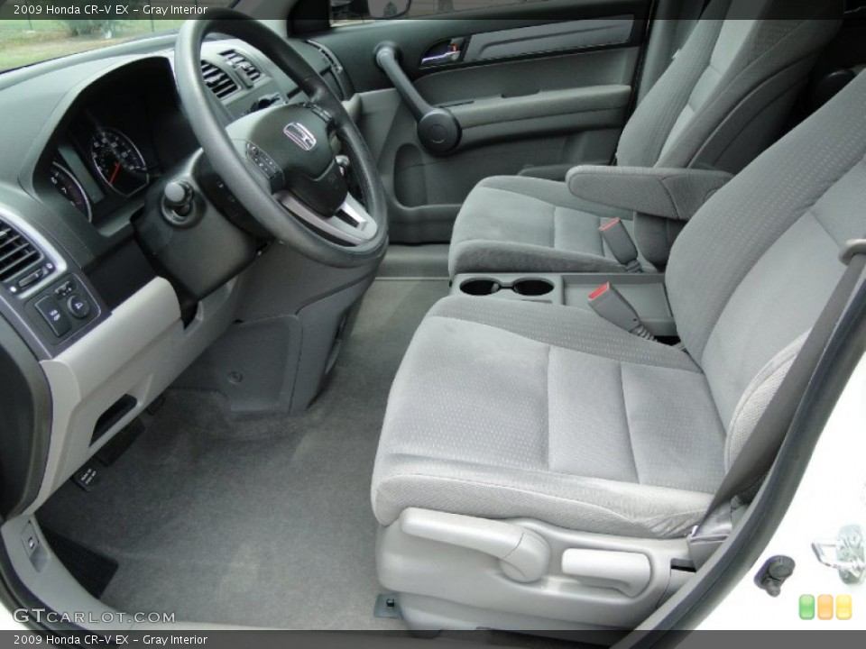 Gray Interior Photo for the 2009 Honda CR-V EX #50300205