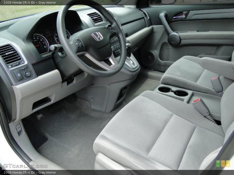 Gray Interior Photo for the 2009 Honda CR-V EX #50300223