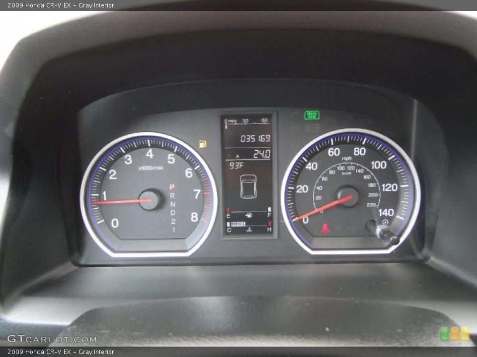 Gray Interior Gauges for the 2009 Honda CR-V EX #50300307