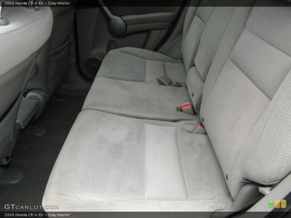 Gray Interior Photo for the 2009 Honda CR-V EX #50300442