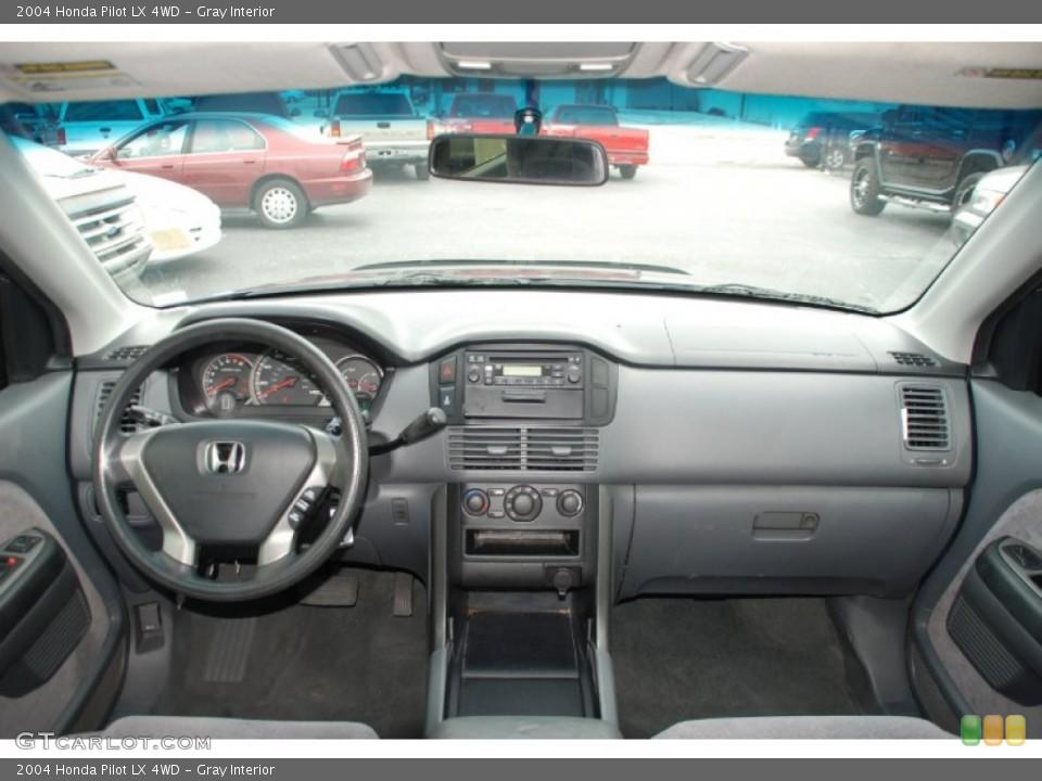 Gray Interior Dashboard for the 2004 Honda Pilot LX 4WD #50327823