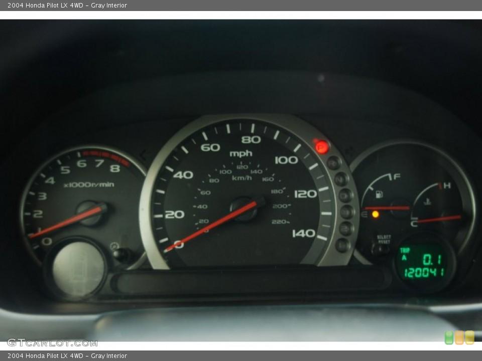 Gray Interior Gauges for the 2004 Honda Pilot LX 4WD #50327829