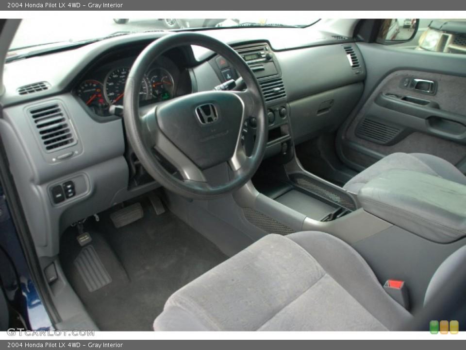 Gray Interior Prime Interior for the 2004 Honda Pilot LX 4WD #50327835