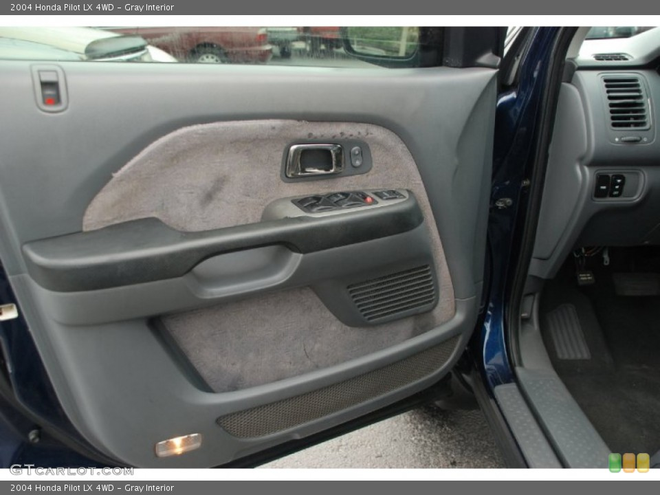 Gray Interior Door Panel for the 2004 Honda Pilot LX 4WD #50327877