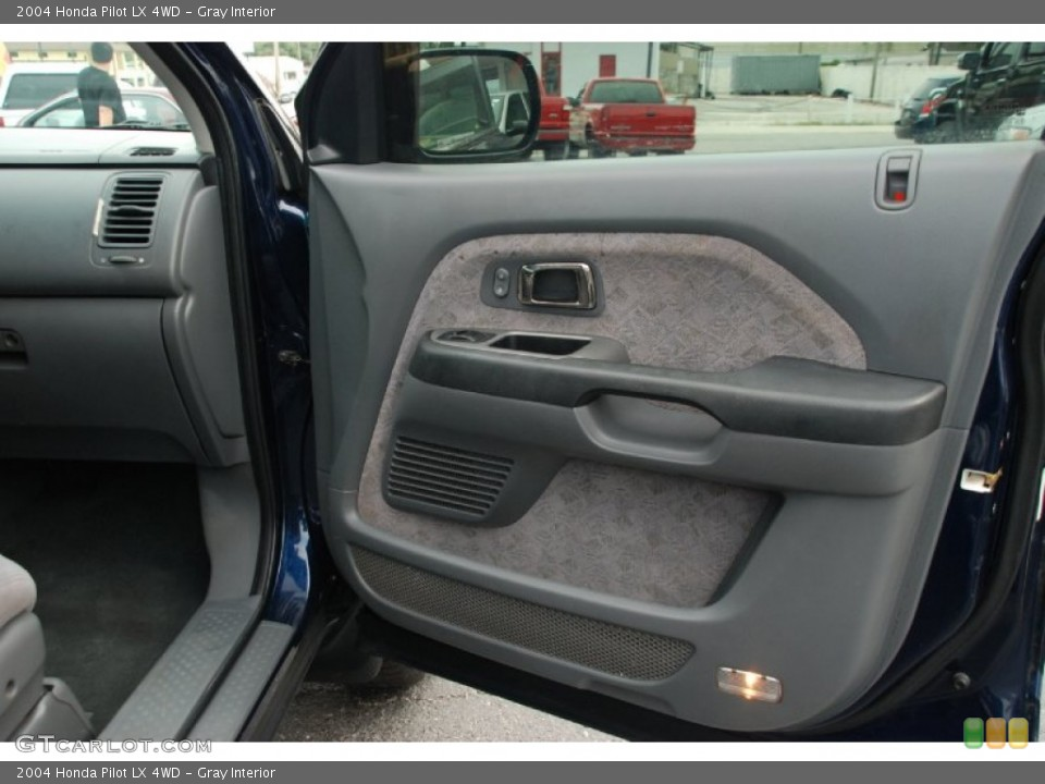 Gray Interior Door Panel for the 2004 Honda Pilot LX 4WD #50327883