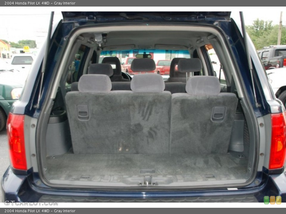 Gray Interior Trunk for the 2004 Honda Pilot LX 4WD #50327925