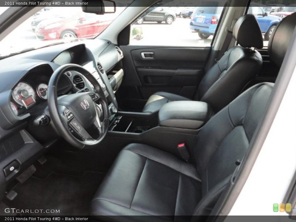 Black Interior Photo for the 2011 Honda Pilot Touring 4WD #50368143
