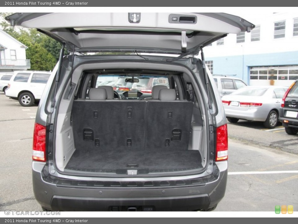 Gray Interior Trunk for the 2011 Honda Pilot Touring 4WD #50453105