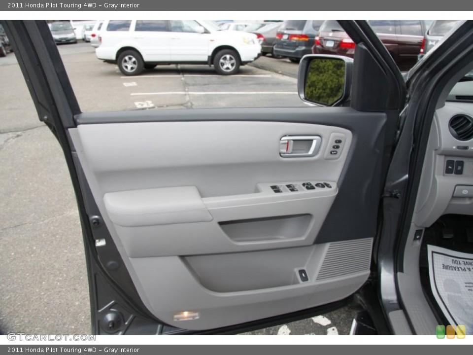 Gray Interior Door Panel for the 2011 Honda Pilot Touring 4WD #50453177