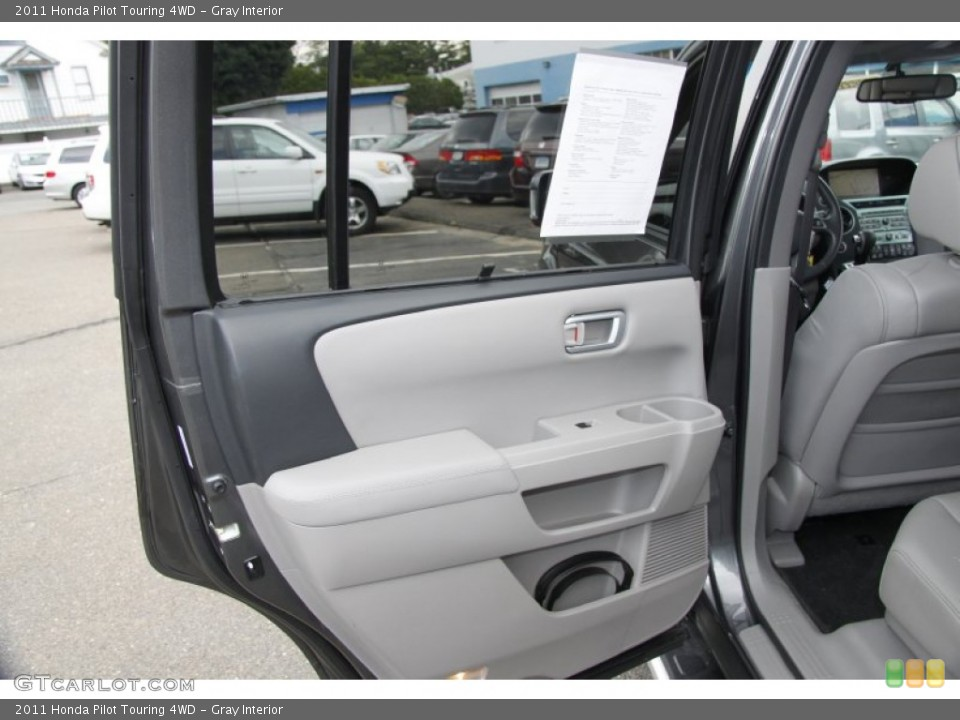 Gray Interior Door Panel for the 2011 Honda Pilot Touring 4WD #50453192