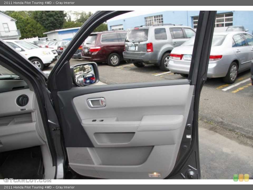 Gray Interior Door Panel for the 2011 Honda Pilot Touring 4WD #50453207