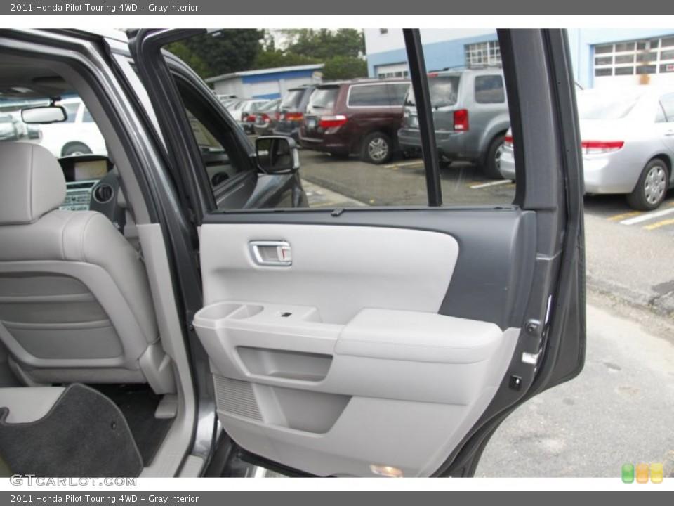 Gray Interior Door Panel for the 2011 Honda Pilot Touring 4WD #50453225