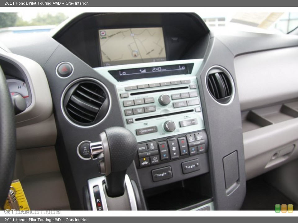 Gray Interior Controls for the 2011 Honda Pilot Touring 4WD #50453330