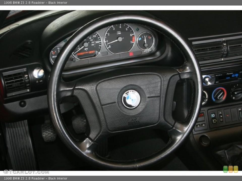 Black Interior Steering Wheel for the 1998 BMW Z3 2.8 Roadster #50482370
