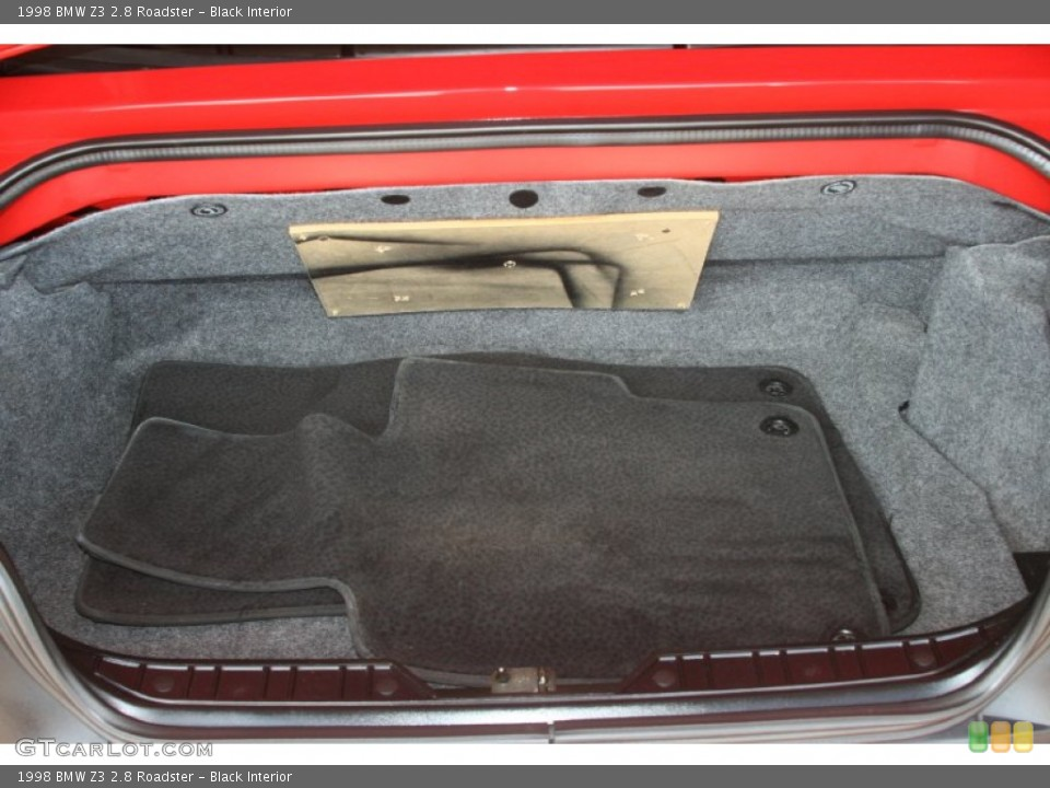 Black Interior Trunk for the 1998 BMW Z3 2.8 Roadster #50482441