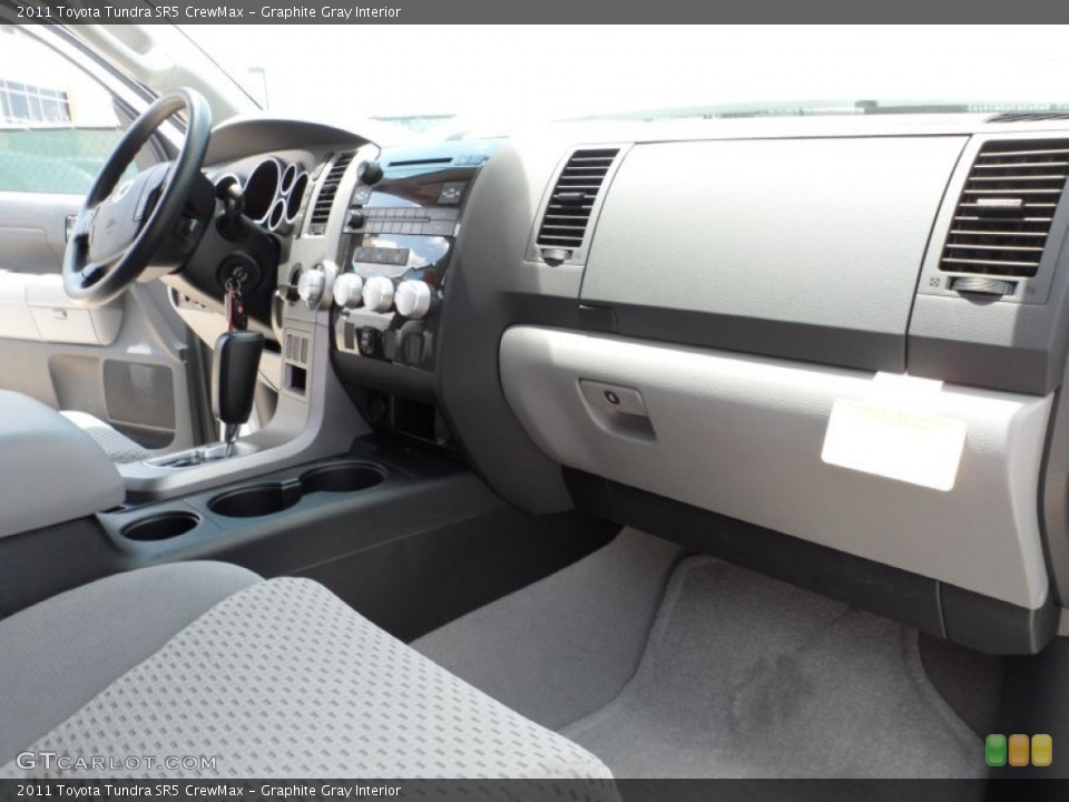 Graphite Gray Interior Photo for the 2011 Toyota Tundra SR5 CrewMax #50508496