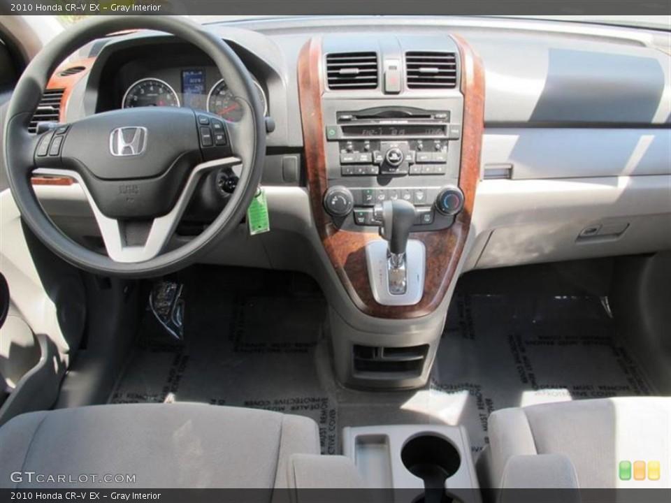 Gray Interior Dashboard for the 2010 Honda CR-V EX #50560942