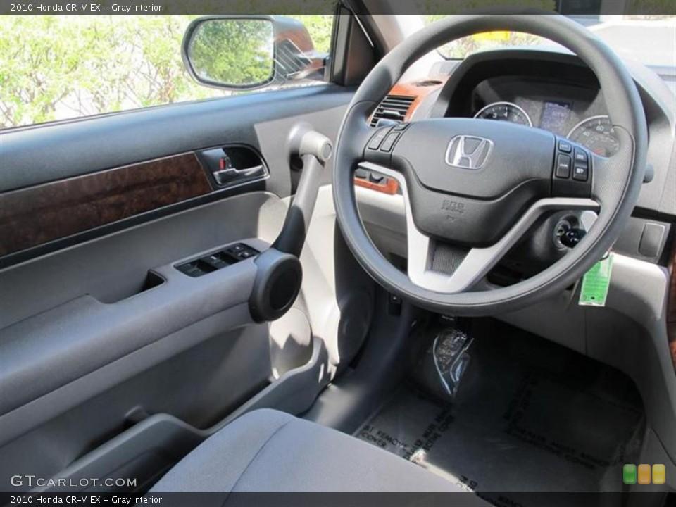 Gray Interior Photo for the 2010 Honda CR-V EX #50560957