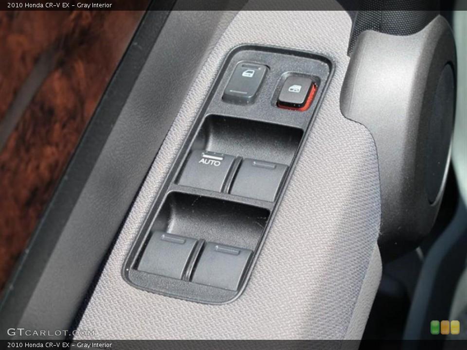 Gray Interior Controls for the 2010 Honda CR-V EX #50561017