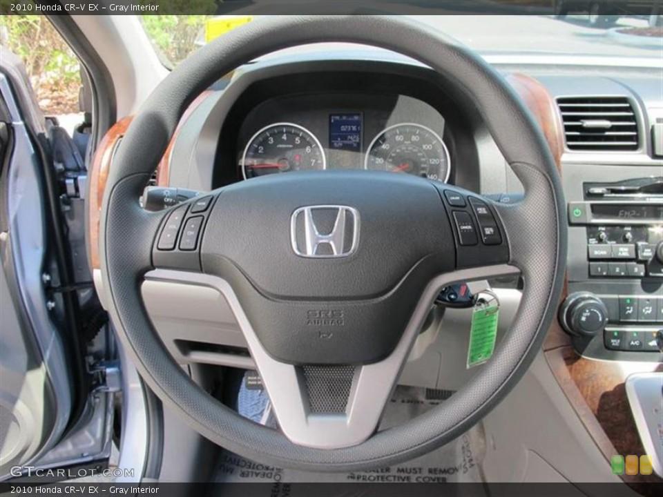 Gray Interior Steering Wheel for the 2010 Honda CR-V EX #50561047