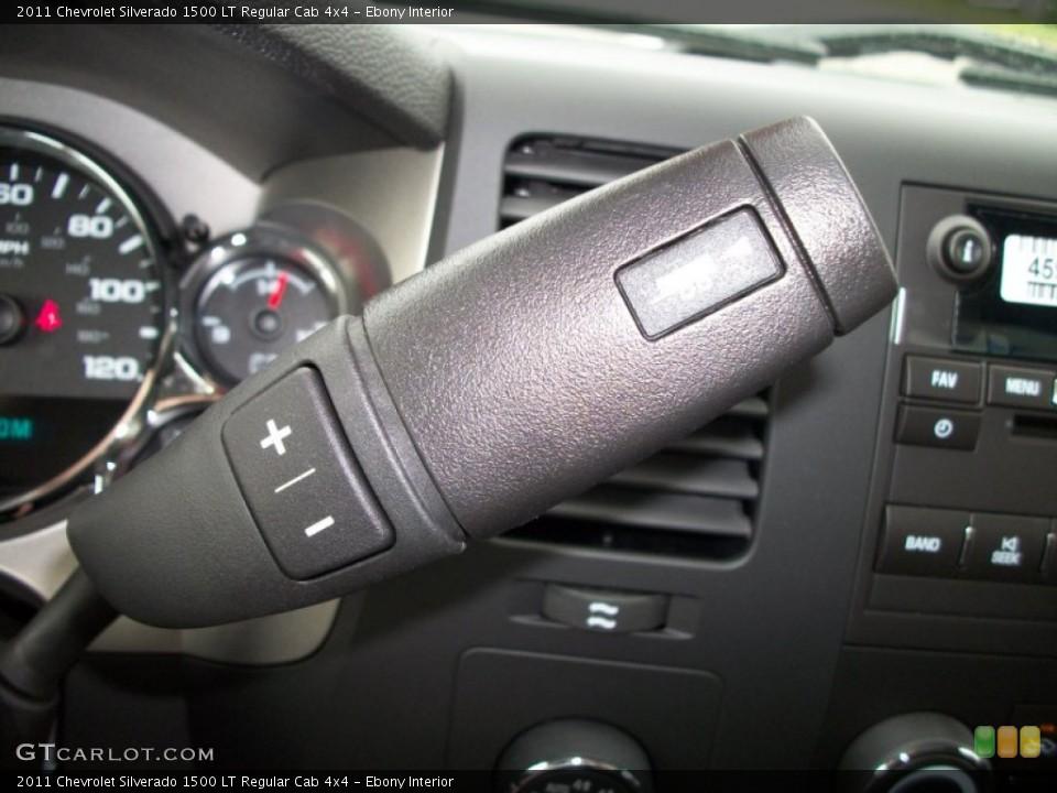 Ebony Interior Transmission for the 2011 Chevrolet Silverado 1500 LT Regular Cab 4x4 #50603133