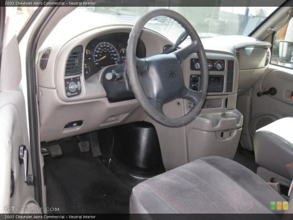 Neutral Interior Photo for the 2003 Chevrolet Astro Commercial #50717047