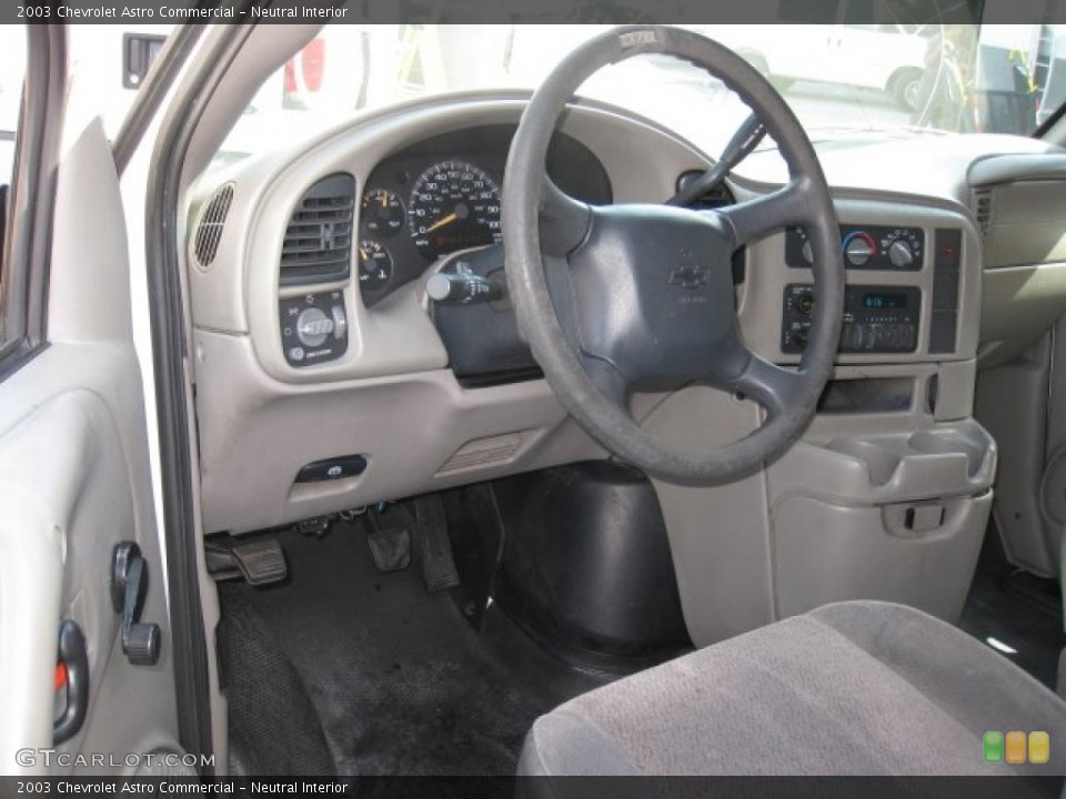 Neutral Interior Photo for the 2003 Chevrolet Astro Commercial #50717170