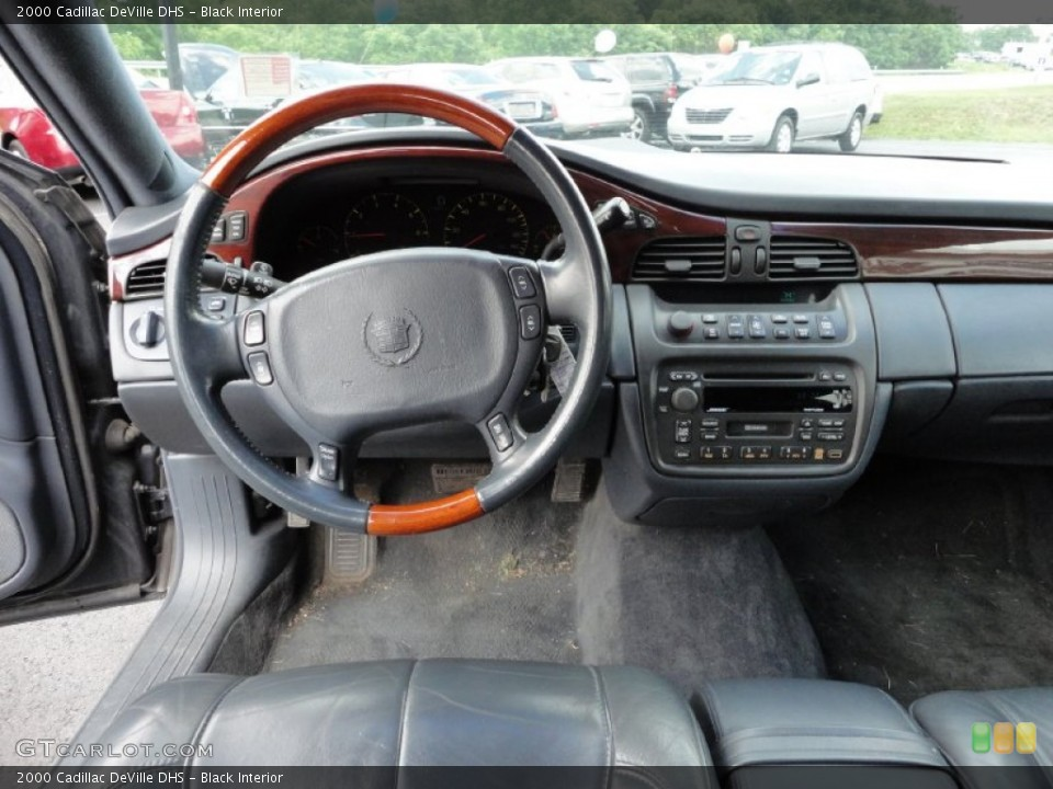 black interior dashboard for the 2000 cadillac deville dhs 50727762 gtcarlot com gtcarlot com