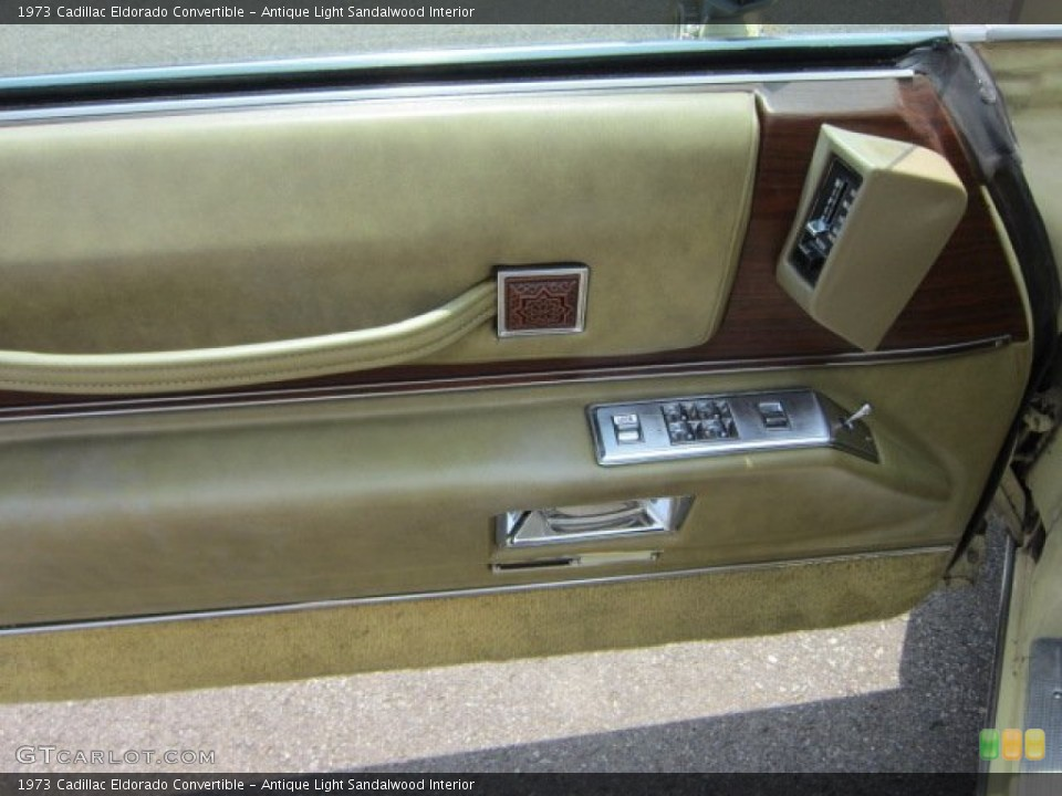 Antique Light Sandalwood Interior Door Panel For The 1973 Cadillac Eldorado Convertible 50793105 Gtcarlot Com