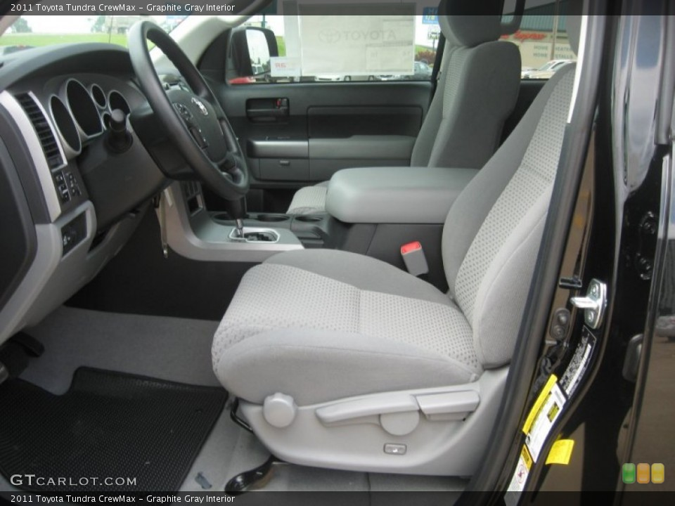 Graphite Gray Interior Photo for the 2011 Toyota Tundra CrewMax #50794518