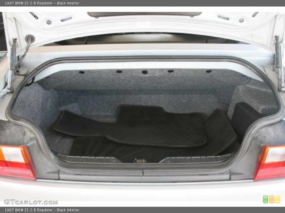 Black Interior Trunk for the 1997 BMW Z3 2.8 Roadster #50822907