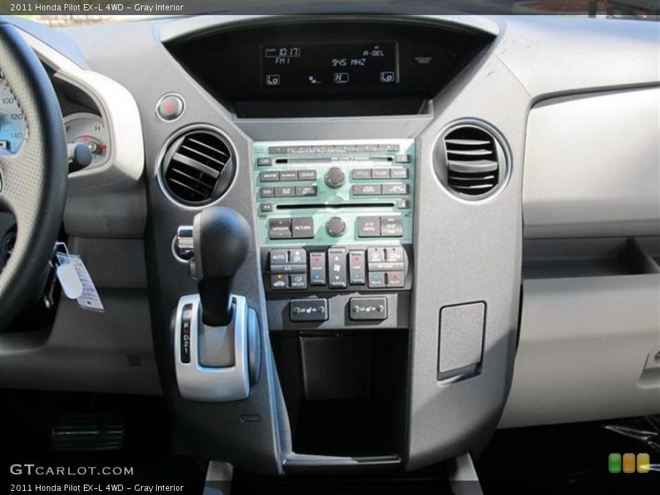 Gray Interior Controls for the 2011 Honda Pilot EX-L 4WD #50896141