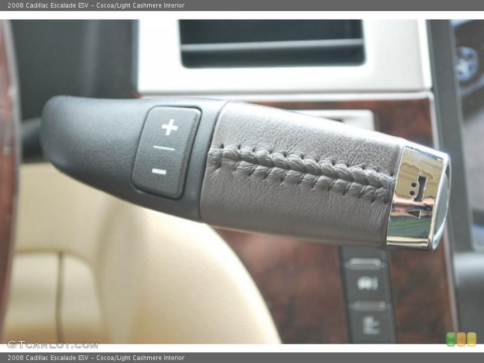 Cocoa/Light Cashmere Interior Transmission for the 2008 Cadillac Escalade ESV #50946681