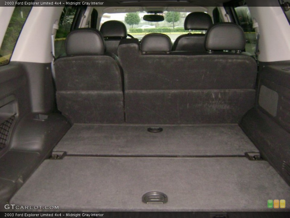 Midnight Gray Interior Trunk for the 2003 Ford Explorer Limited 4x4 #50989388