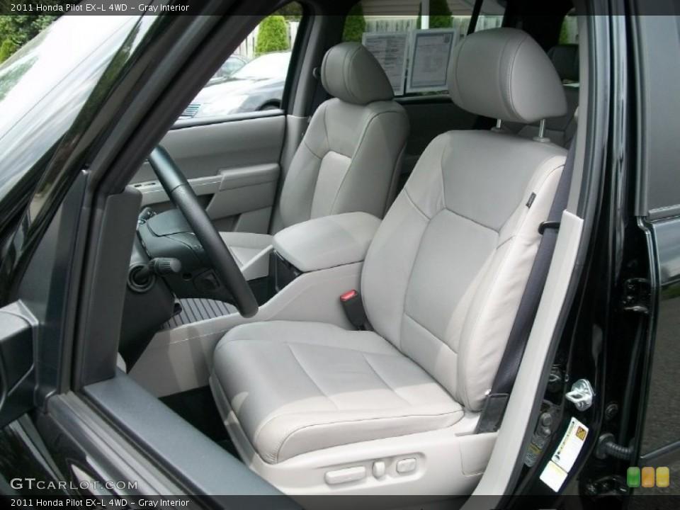 Gray Interior Photo for the 2011 Honda Pilot EX-L 4WD #51125025