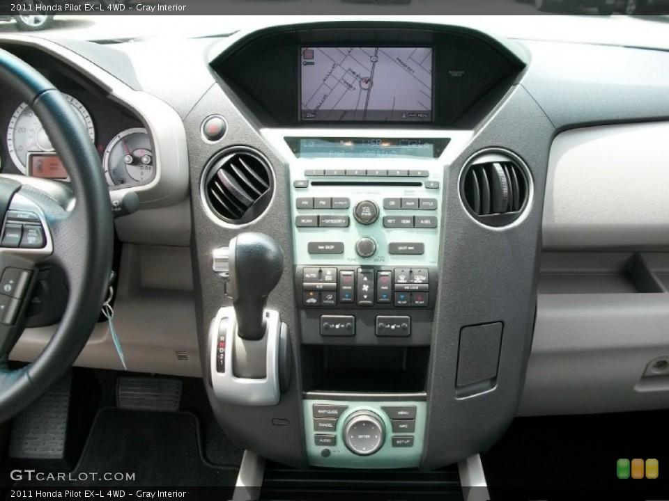 Gray Interior Controls for the 2011 Honda Pilot EX-L 4WD #51125127