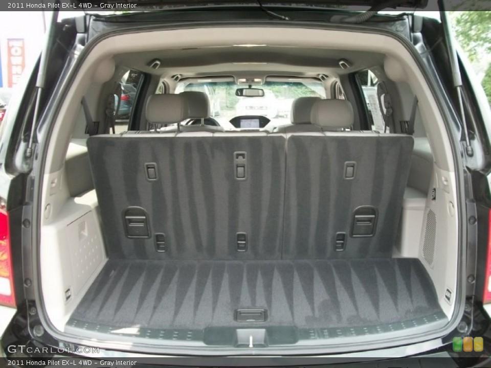Gray Interior Trunk for the 2011 Honda Pilot EX-L 4WD #51125160