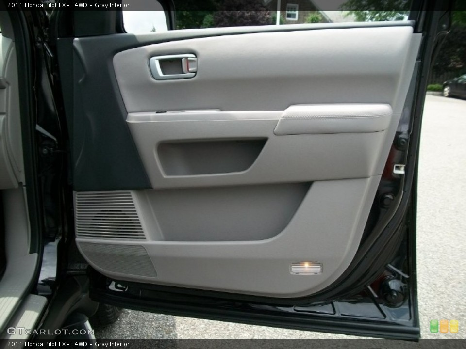 Gray Interior Door Panel for the 2011 Honda Pilot EX-L 4WD #51125244