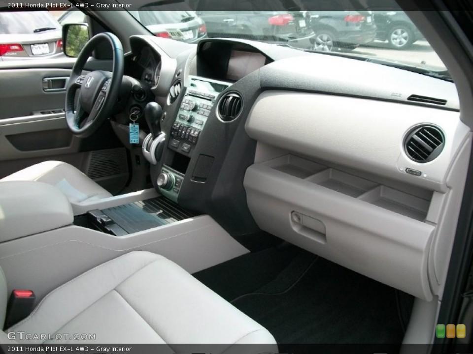 Gray Interior Dashboard for the 2011 Honda Pilot EX-L 4WD #51125250