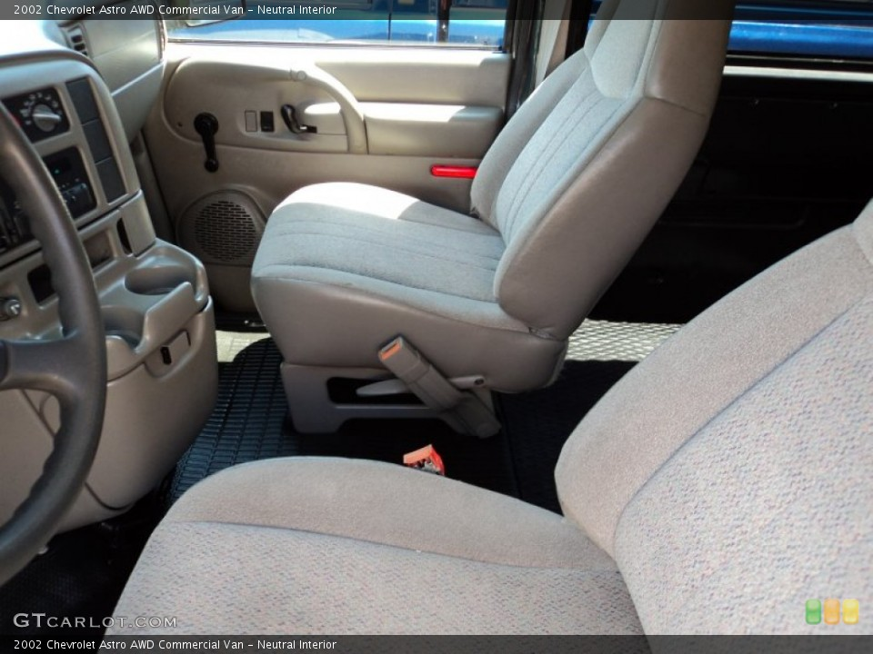Neutral Interior Photo for the 2002 Chevrolet Astro AWD Commercial Van #51142283