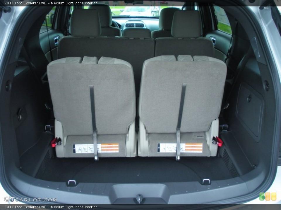 Medium Light Stone Interior Trunk for the 2011 Ford Explorer FWD #51142865