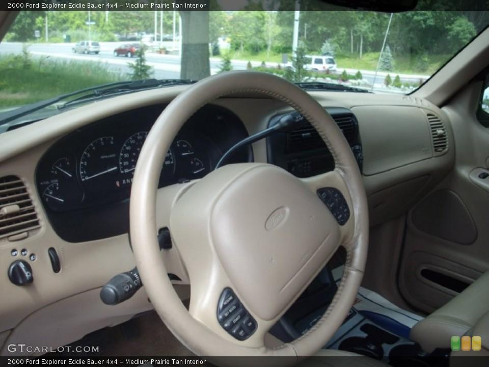 Medium Prairie Tan Interior Photo for the 2000 Ford Explorer Eddie Bauer 4x4 #51170124