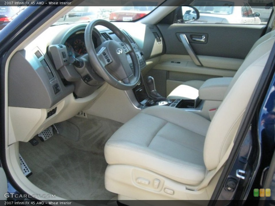 Wheat Interior Photo for the 2007 Infiniti FX 45 AWD #51245242