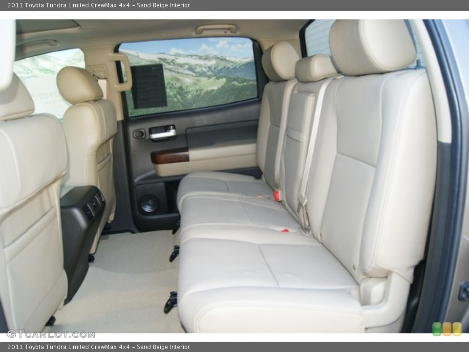 Sand Beige Interior Photo for the 2011 Toyota Tundra Limited CrewMax 4x4 #51251192
