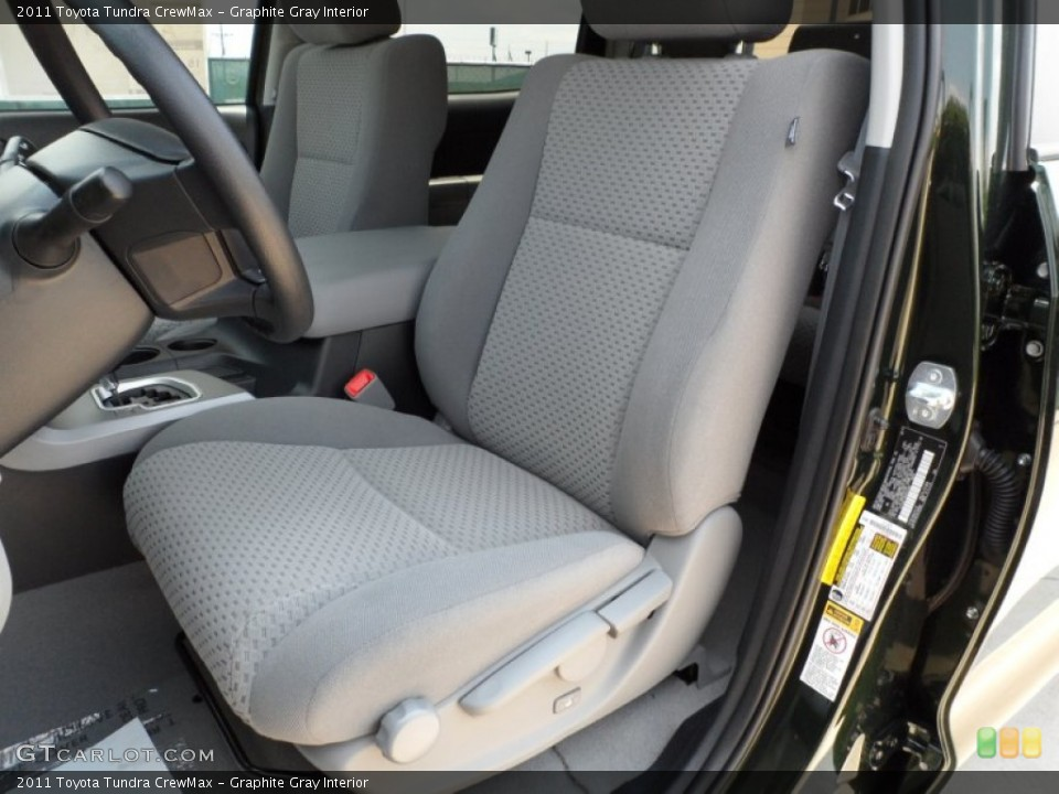 Graphite Gray Interior Photo for the 2011 Toyota Tundra CrewMax #51321142